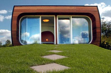 Сберегающий пространство дом проекта Bio-City. Фото