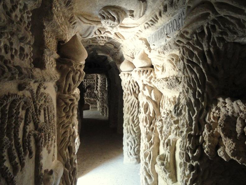 Идеальный дворец Шеваля. Вид изнутри
