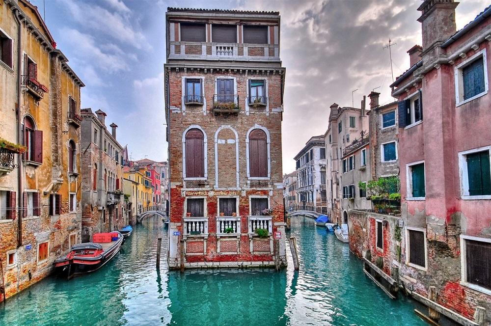 Красочная венеция италия фото дня