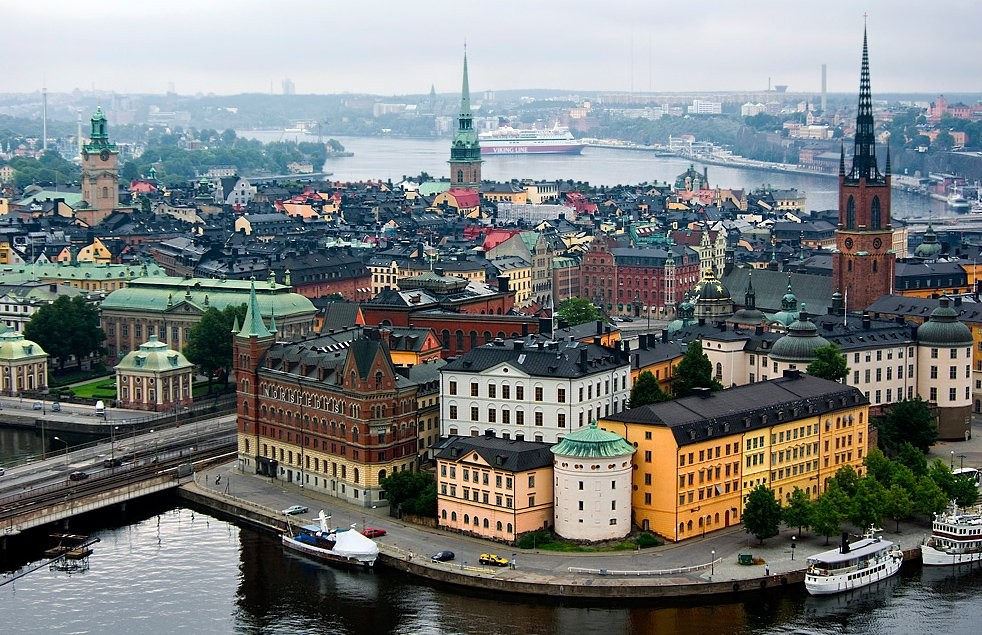 Стокгольм, Швеция. Фото дня