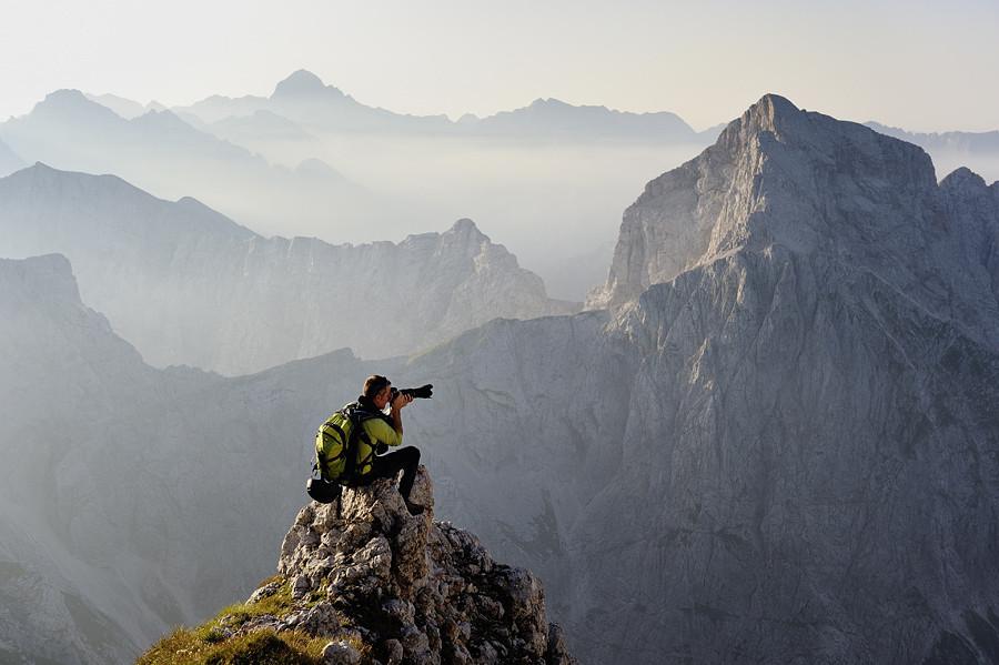 На горе Мангарт, Словения. Фото дня
