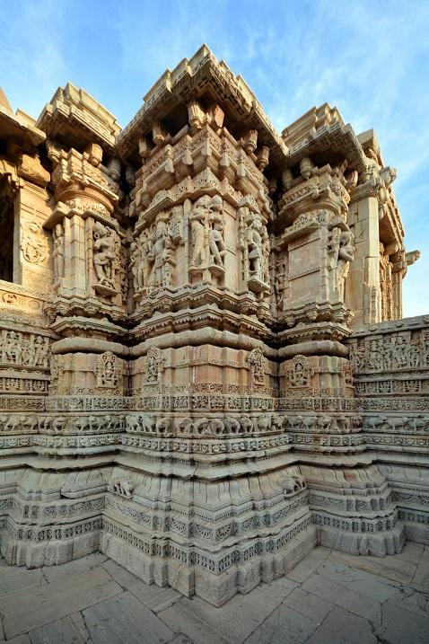 Форт Читторгарх в Индии. Фото