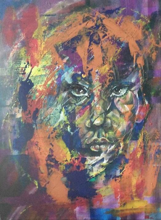 Красивые психоделические картины Роберта Харисова. Фото