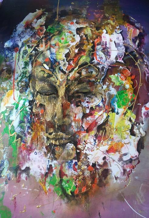 Красивые психоделические картины художника Роберта Харисова. Фото