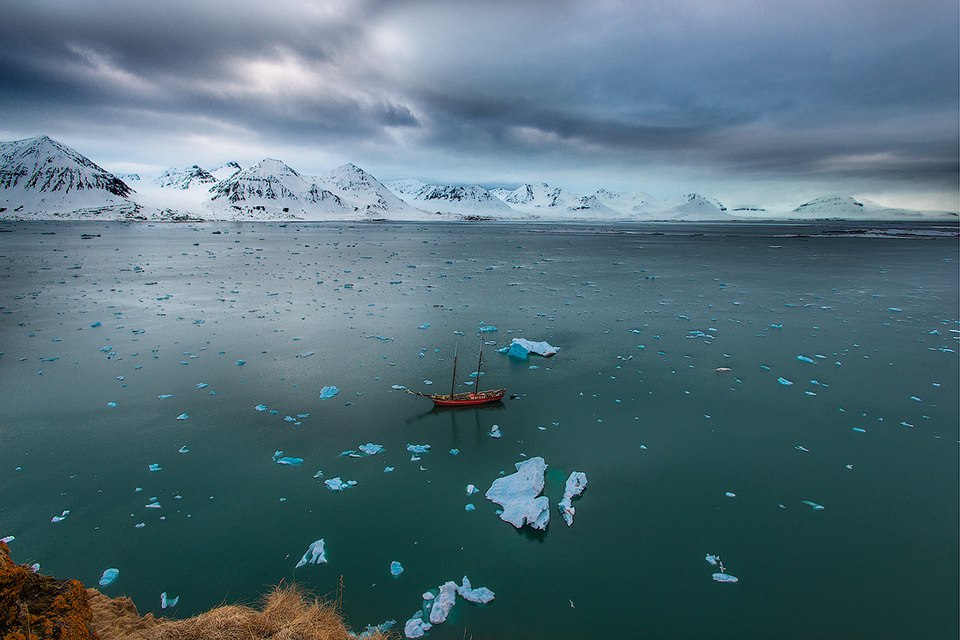 Суровое обаяние Арктики от Сергея Иванова. Фото дня