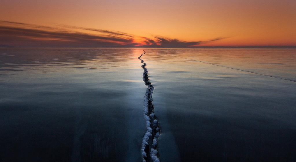 Мир пополам от Алексея Трофимова. Фото дня