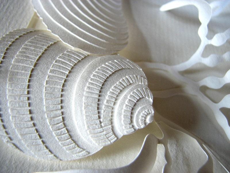 Бумажные скульптуры Дэрила Эштона. Фото
