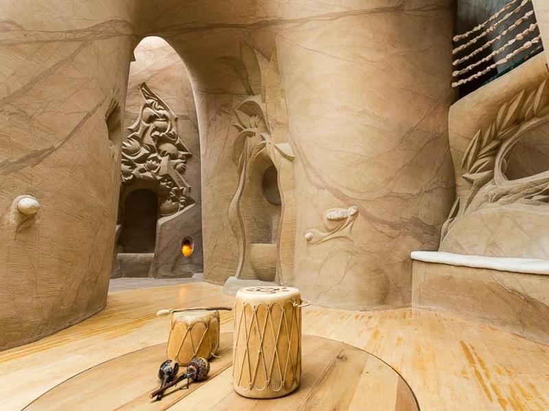 Рукотворные пещеры от Ра Полетта в Нью-Мексико. Фото