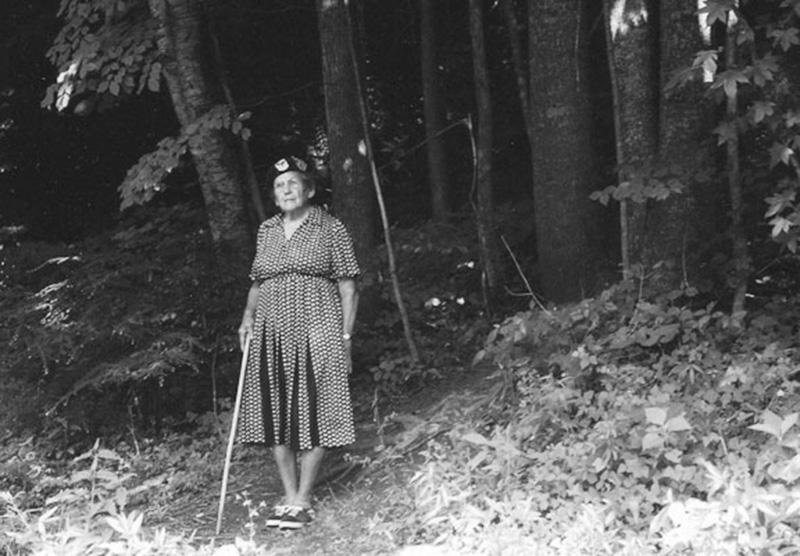 Бабушка Гейтвуд – самая известная пешая туристка США. Фото