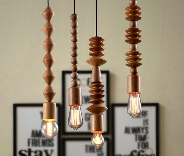 Необычные длинные светильники. Фото