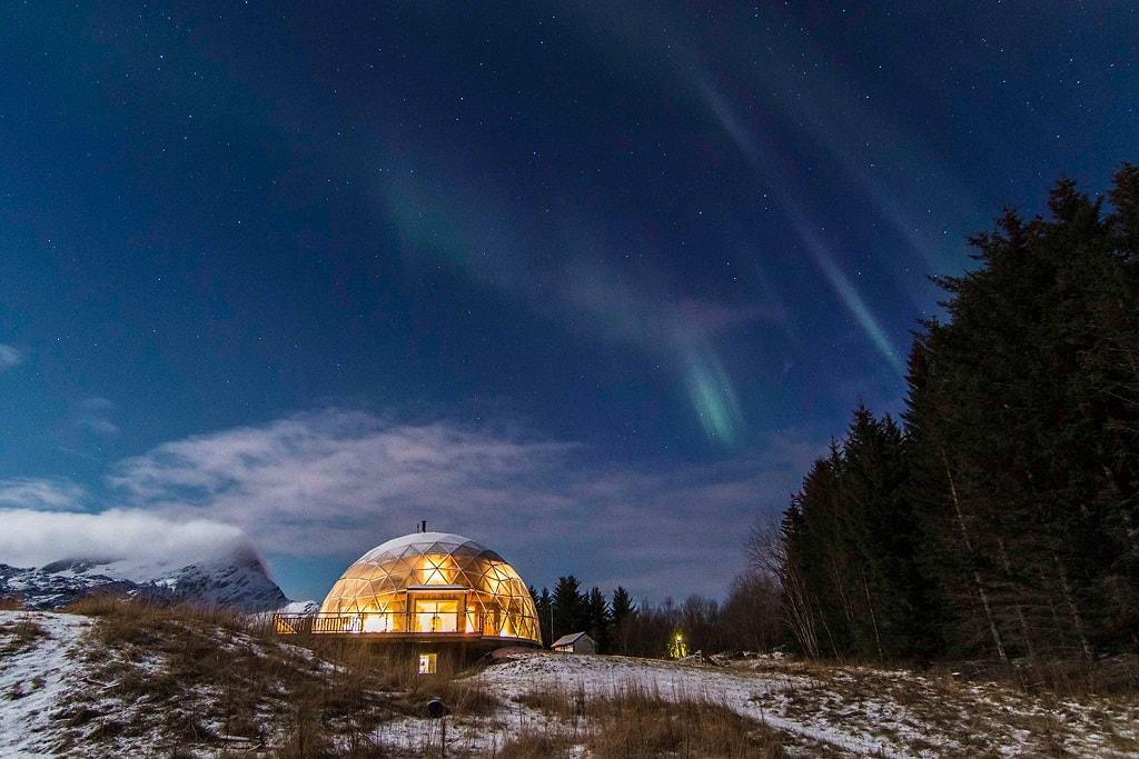 Экодом на севере Норвегии. Фото