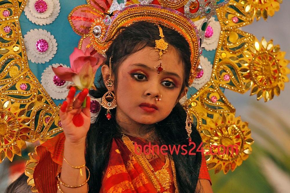 Кумари - живая богиня в Непале и Индии Кумари – живая богиня в Непале и Индии Kumari 20Puja 202013