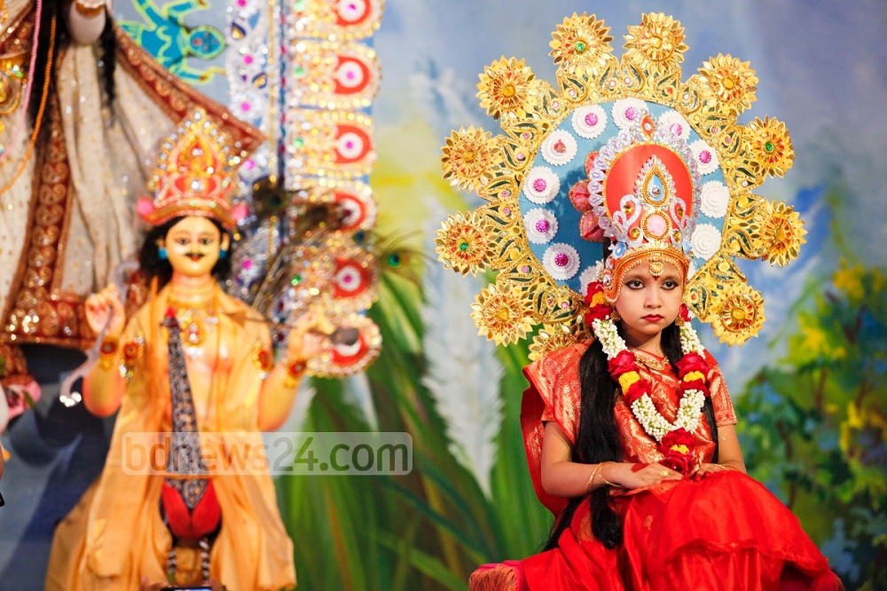 Кумари - живая богиня в Непале и Индии Кумари – живая богиня в Непале и Индии Kumari 20Puja 202014 20 1