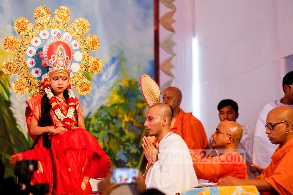 Кумари - живая богиня в Непале и Индии Кумари – живая богиня в Непале и Индии Kumari 20Puja 202014 20 2