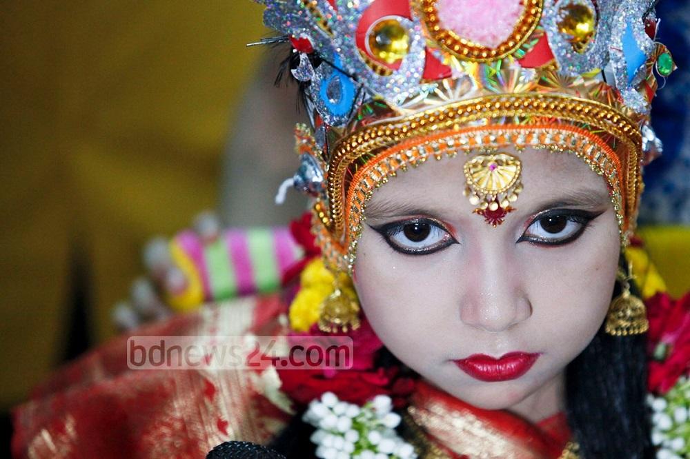 Кумари - живая богиня в Непале и Индии Кумари – живая богиня в Непале и Индии Kumari 20Puja 202014 20 3