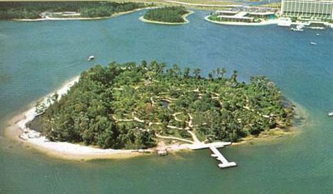 Остров открытий в Диснейленде во Флориде. Фото