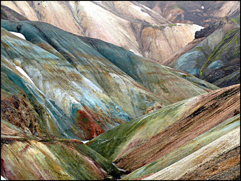 Вулканический ландшафт. Фото