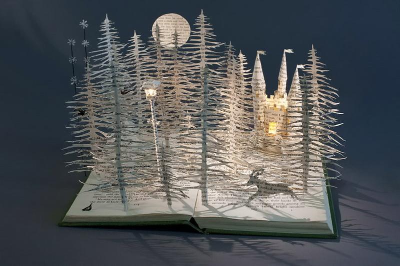 Бумажные скульптуры Сью Блэквелл. Фото