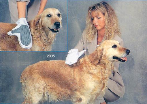 Чесалка-варежка для собаки. Фото