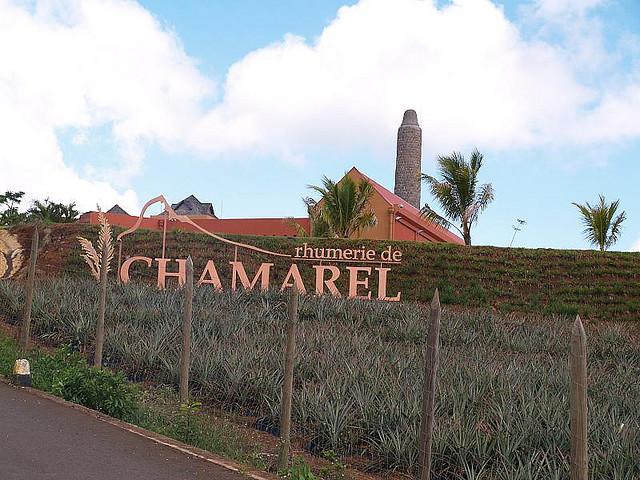 Въезд в село Шамарель. Фото