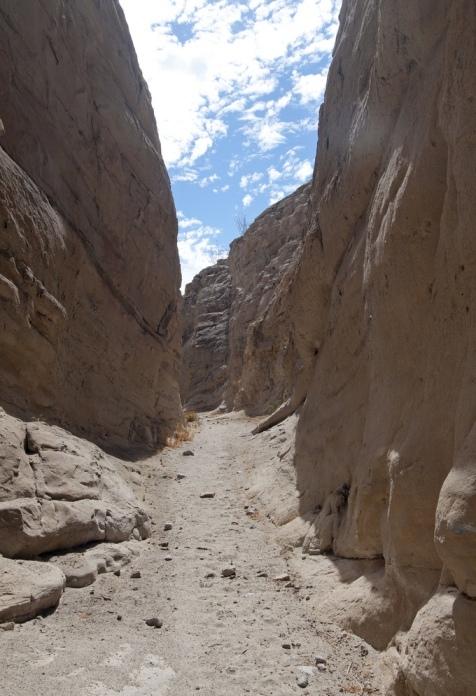 Расщепленная гора в пустыне Анза Боррего. Фото