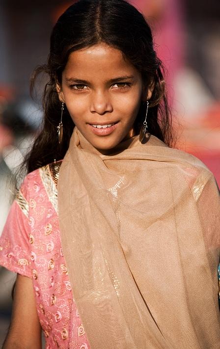 Индия в лицах. Девушка из Джодхпура. Фото