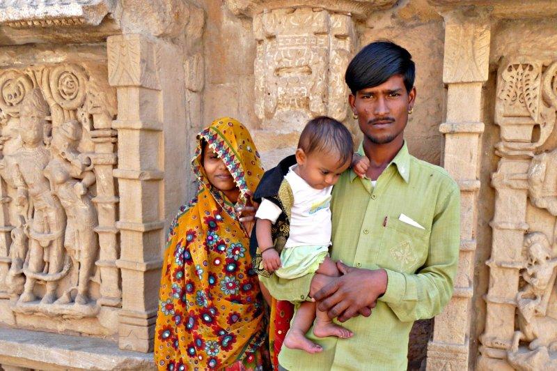 Индия в лицах. Индийская семья из Гуджарата