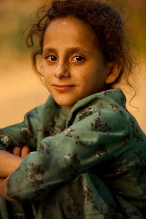 Индия в лицах. Фотопортрет девочки из Шринагара (Кашмир)