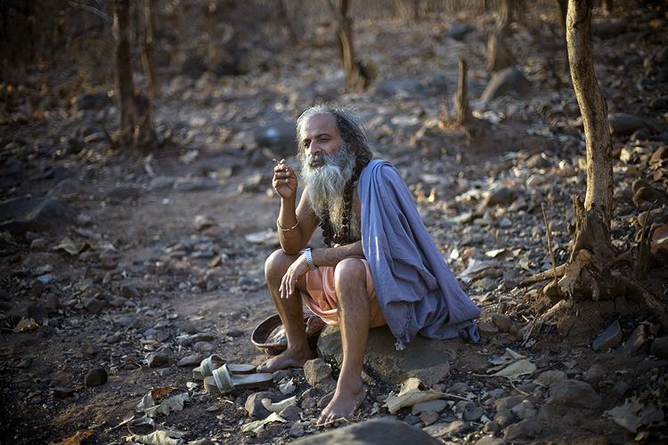 Индия в лицах. Индуист во время праздника Маха Шиваратри. Фото
