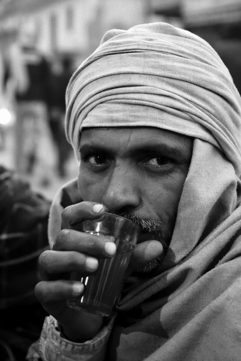 Индия в лицах. Черно-белый фотопортрет индийца
