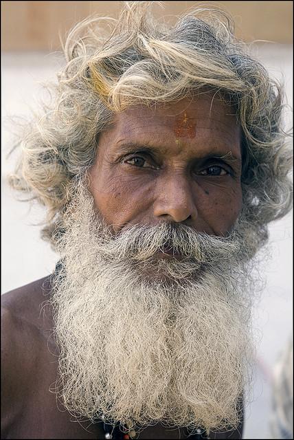 Индия в лицах. Учитель Виджая Нан Дас из Варанаси. Фото