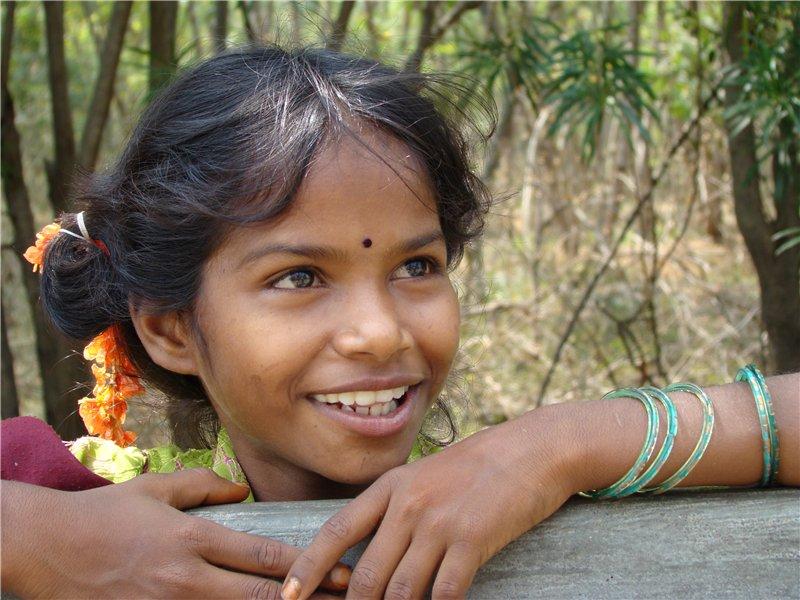 Индия в лицах. Индийская девушка. Фото