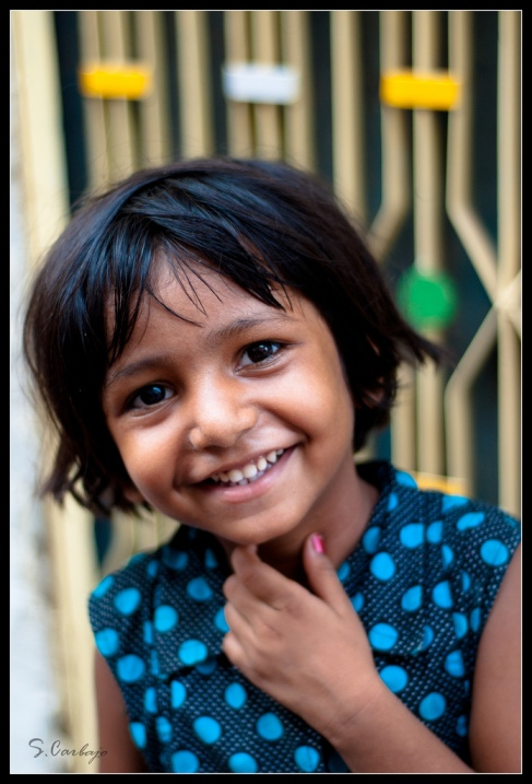 Индия в лицах. Фотопортрет девочки из Джодхпура