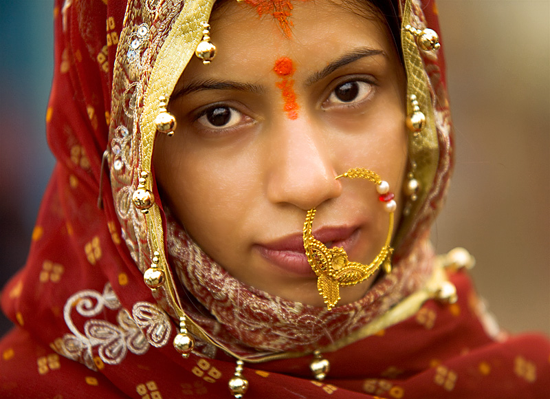 Индия в лицах. Индуистская невеста из Варанаси. Фото