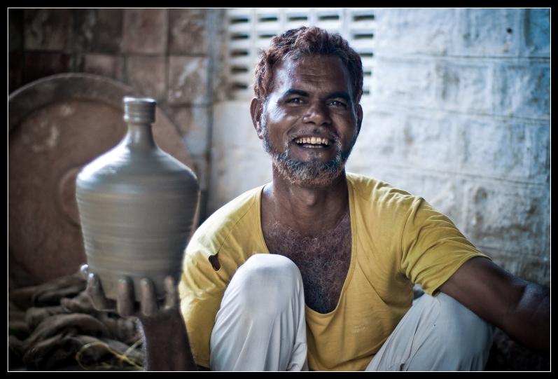 Индия в лицах. Гончар. Фото
