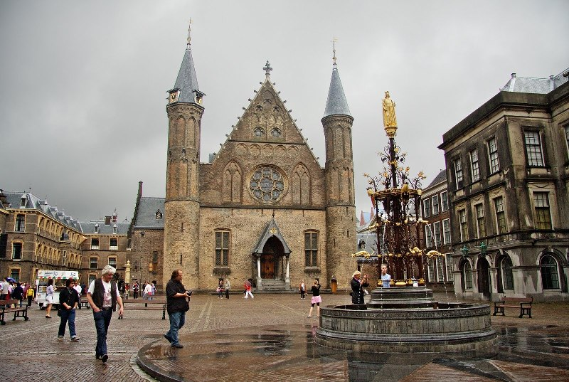 Замок Бинненхов в Гааге. Фото