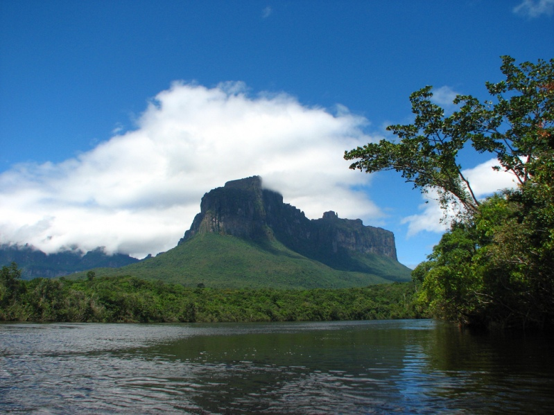Гора Ауянтепуи. Национальный парк Венесуэлы. Фото