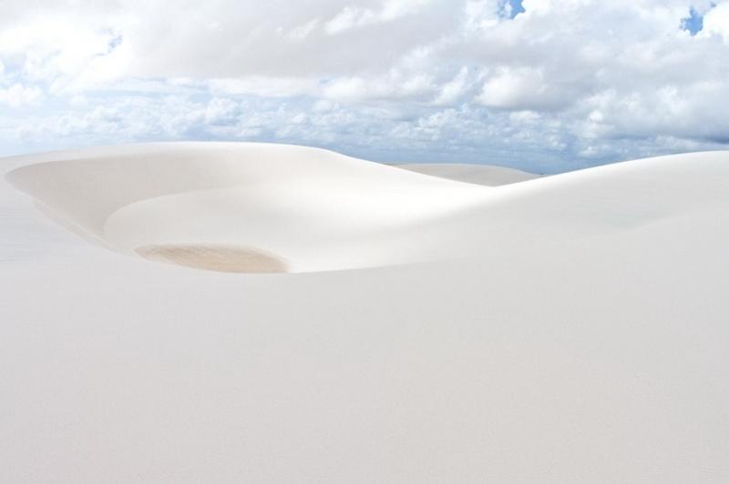 Красивые фото пустыни Ленсойс Мараньенсес в Бразилии