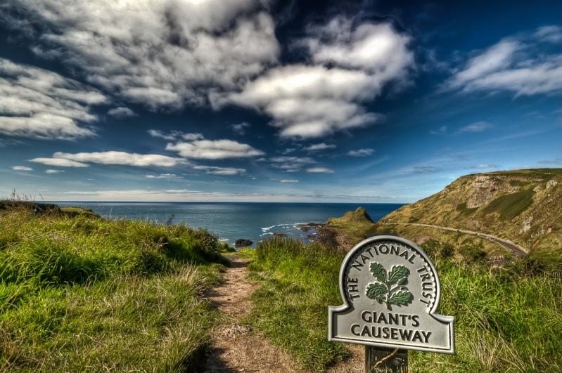 Дорога гигантов в Северной Ирландии. Фото