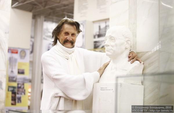 Луиджи Колани в МГТУ им. Н.Э. Баумана. 2010 год. Фото