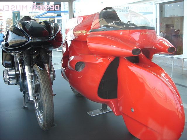 Мотоциклы от Луиджи Колани. Выставка в Карлсруэ. Фото