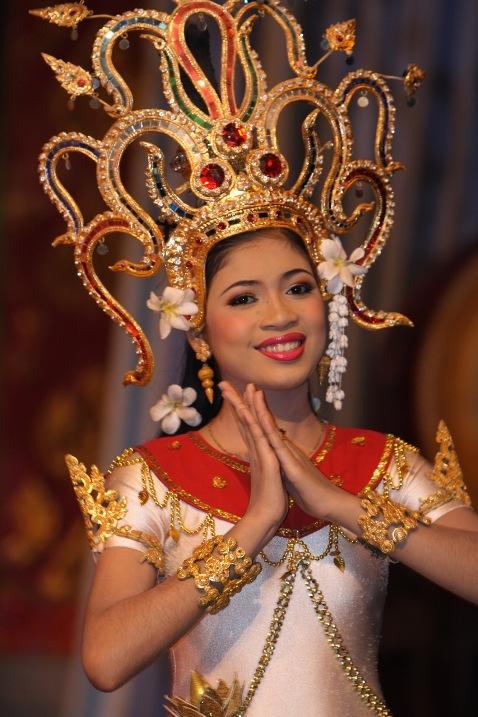 Тайская танцовщица. Фото