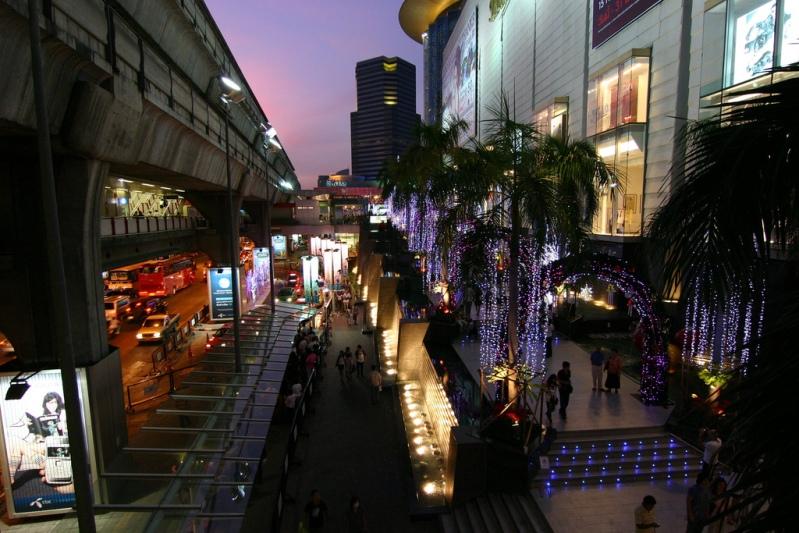 Предновогодний Бангкок. Фото