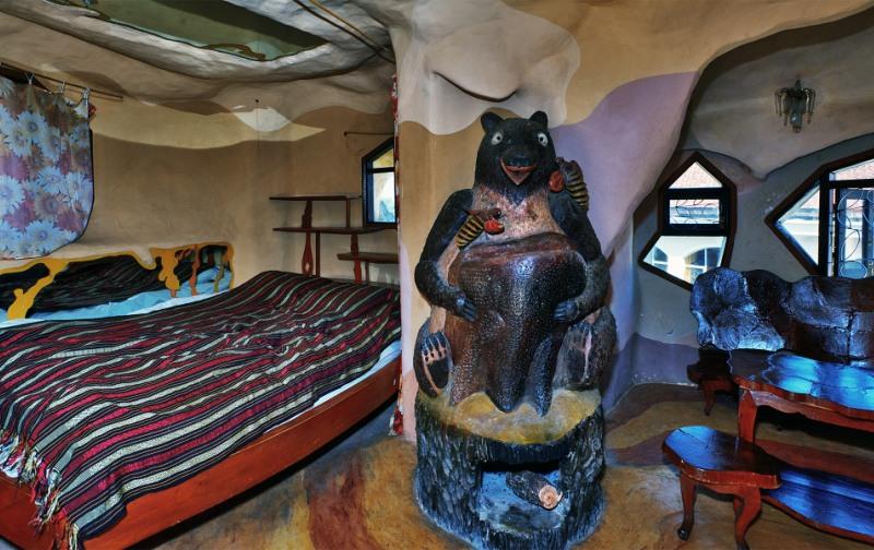 Необычная гостиница Crazy House во Вьетнаме. Фото