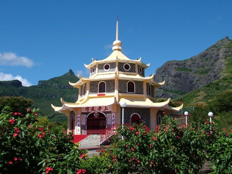 Храм в Порт-Луи. Маврикий. Фото