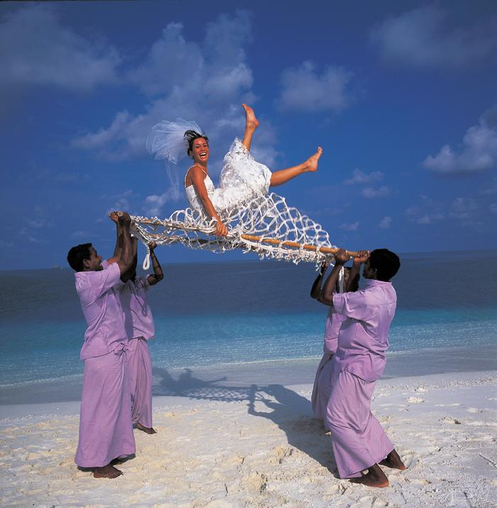 Свадьба на острове Маврикий. Фото