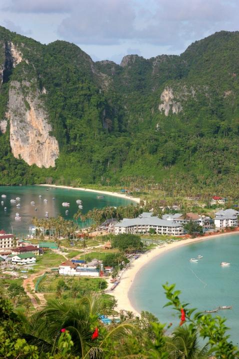 Phi Phi Don (Tailândia).  Foto / Ko Phi Phi Don (Tailândia).  Foto