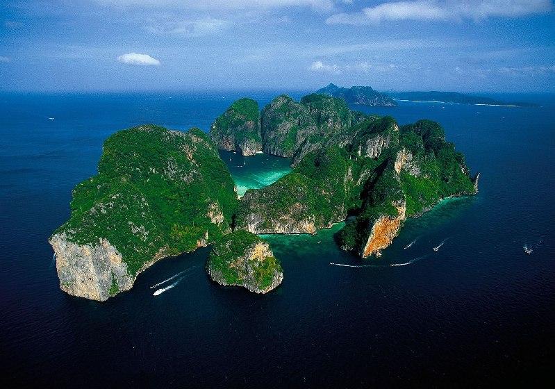 Koh Phi Phi Ley (Tailândia).  Foto / Ko Phi Phi Lee (Tailândia).  Foto