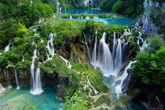 Национальный парк Плитвицкие озера (Хорватия). Фото / Plitvice Lakes National Park. Photo