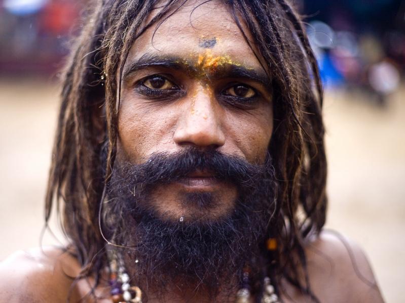 Садху. Пушкар, верблюжья ярмарка. Фото / Sadhu. Photo